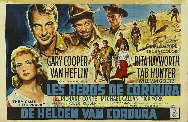 Ceux de Cordura. They came to Cordura. 1959. Robert Rossen. Url17
