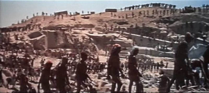 La Terre des Pharaons. Land of the Pharaohs. 1955. Howard Hawks. Vlcsna90