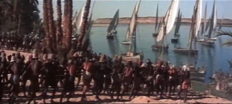 La Terre des Pharaons. Land of the Pharaohs. 1955. Howard Hawks. Vlcsna91