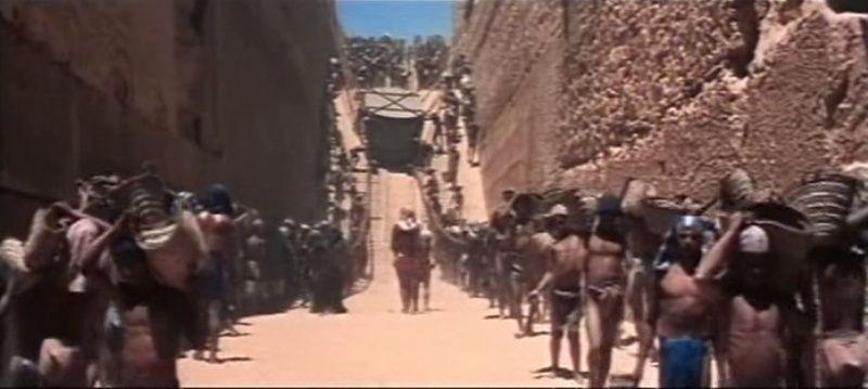 La Terre des Pharaons. Land of the Pharaohs. 1955. Howard Hawks. Vlcsna92