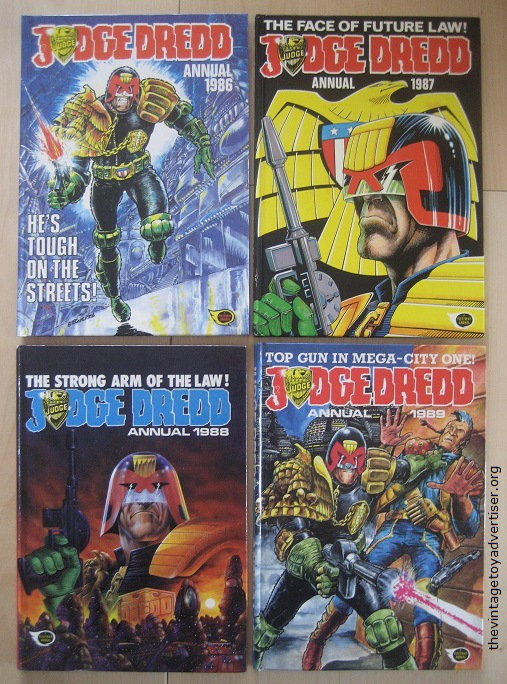 Does anyone else collect judge dredd comic or figures? Annual10