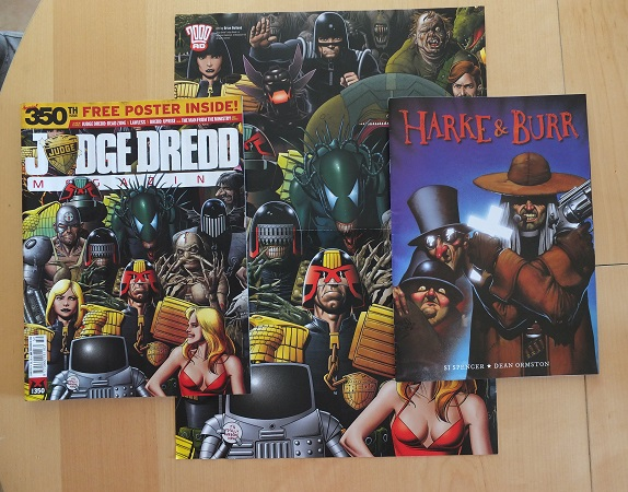 Does anyone else collect judge dredd comic or figures? Judge_10