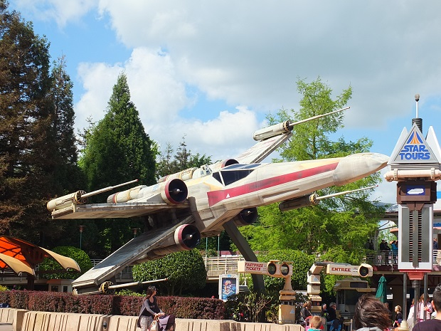 OT - Star Tours, pre and post-Disney ownership of the brand St0110