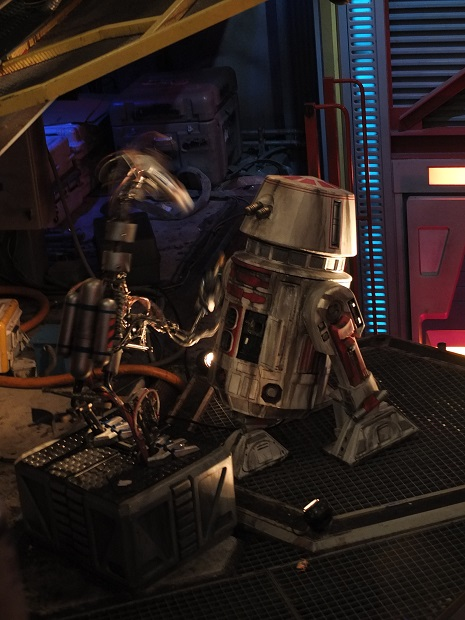 OT - Star Tours, pre and post-Disney ownership of the brand St0810