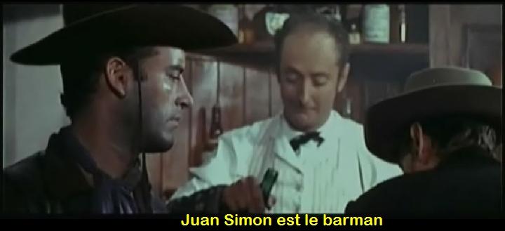 Le défi des implacables . ( Oeste Nevada Joe ) . 1964 . Ignacio F. Iquino . Le_bar10