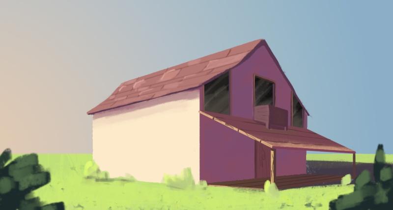 Les études de luki - Page 3 Maison10