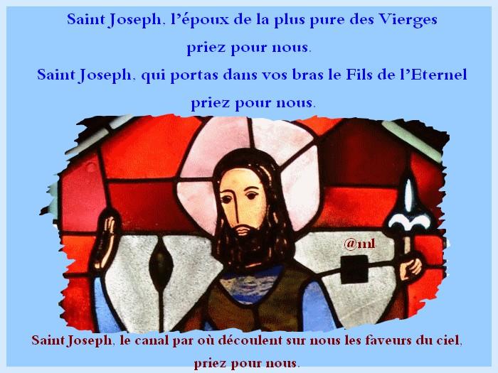 9 Jours avec Saint Joseph époux de Marie vers le 19 Mars  Joseph10