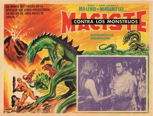 Maciste contre les Monstres - Maciste contro i mostri - 1962 - Guido Maletesta  6a00d810