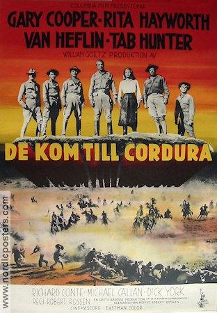 Ceux de Cordura. They came to Cordura. 1959. Robert Rossen. A10