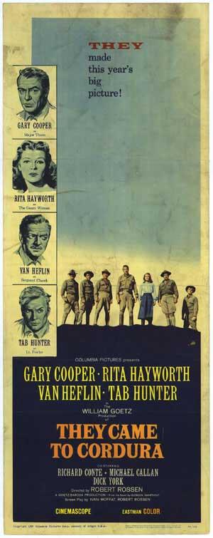 Ceux de Cordura. They came to Cordura. 1959. Robert Rossen. C10