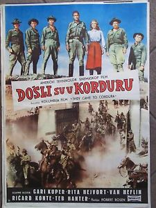 Ceux de Cordura. They came to Cordura. 1959. Robert Rossen. D10