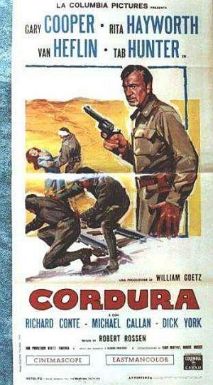 Ceux de Cordura. They came to Cordura. 1959. Robert Rossen. H10