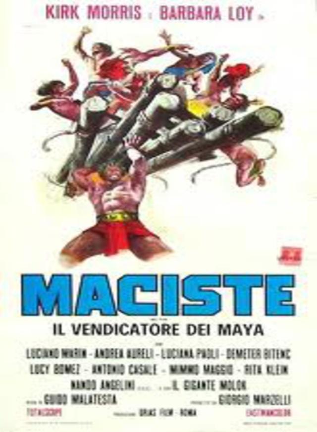 Maciste, le vengeur du Dieu Maya- Maciste, il vendicatore dei Maya- 1965- Guido Malatesta Macist12