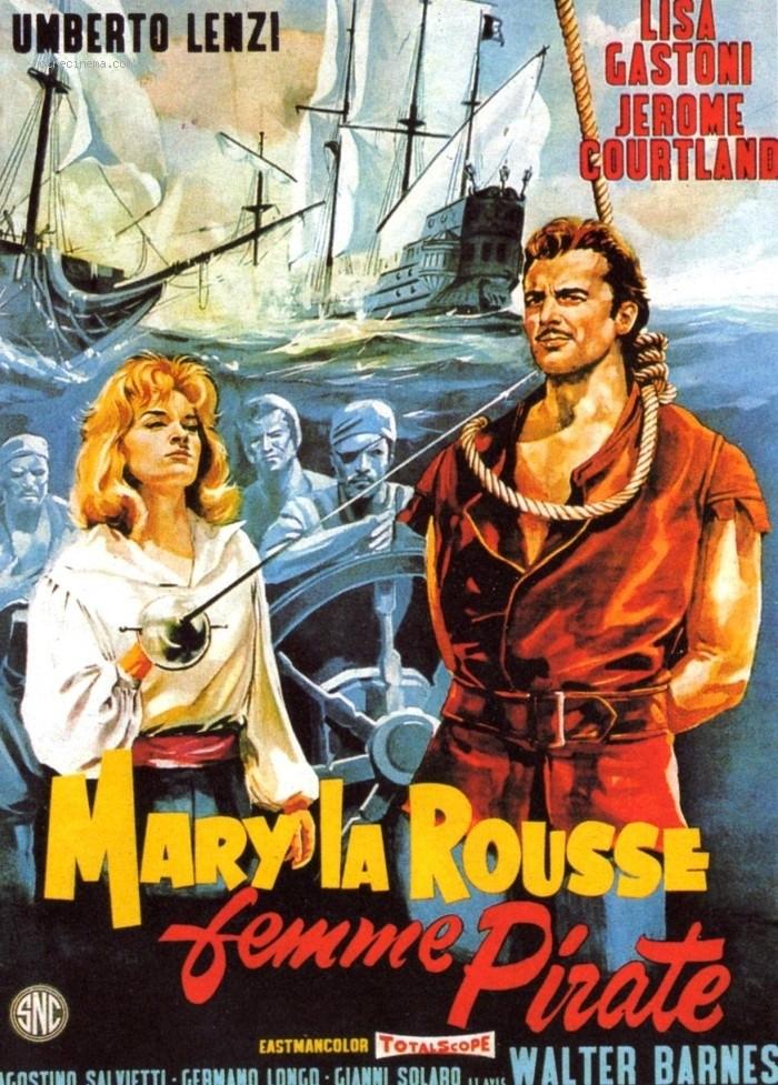 Mary la Rousse, Femme Pirate - Umberto Lenzi - 1961 Mary-l10