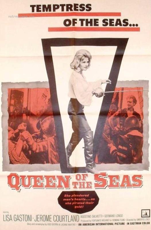 Mary la Rousse, Femme Pirate - Umberto Lenzi - 1961 Mary-l11