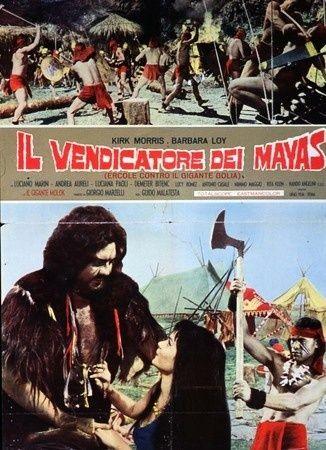 Maciste, le vengeur du Dieu Maya- Maciste, il vendicatore dei Maya- 1965- Guido Malatesta Maya110