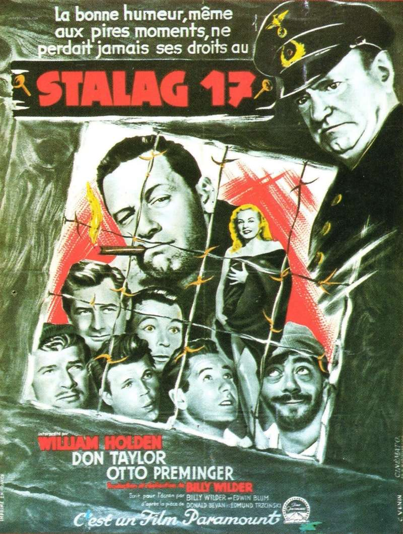 Stalag 17. 1953. Billy Wilder. Stalag10