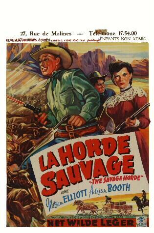 La Horde Sauvage - The Maverick Queen - Joseph Kane (1956) Z11