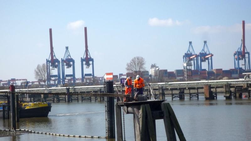 Einsatzfahrt mit einem Schlepper im Hamburger Hafen 05110