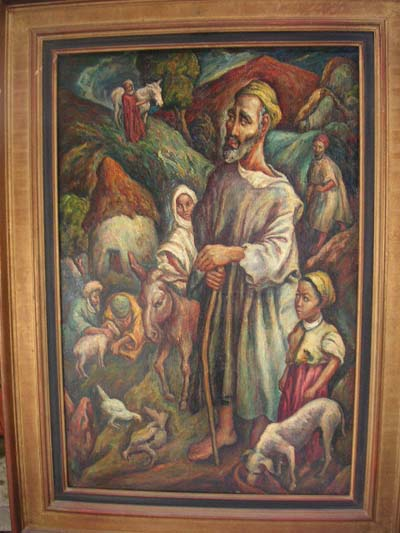 amazigh - Peinture representant Juif ou Amazigh Fez 1927 Darna Berber10