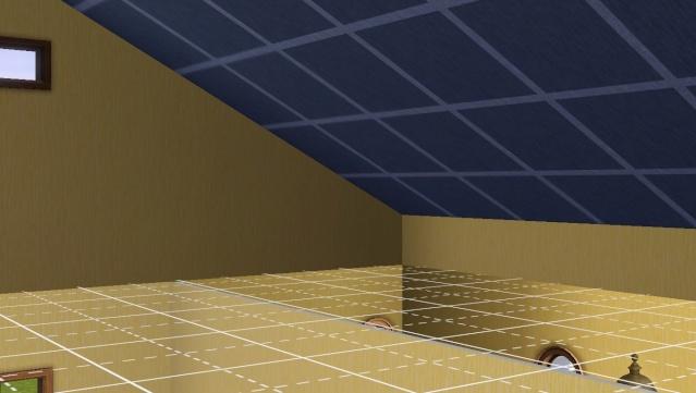 [Intermédiaire]Créer un revêtement intérieur des toits en pente Screen18