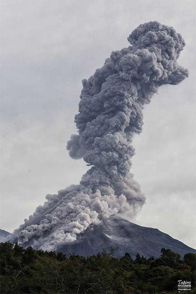 Colima Volacano errupting! 27th10