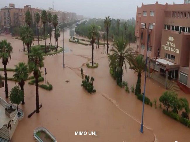 Novembre 2014, Tiznite prise en otage .. inondation Tiznit11