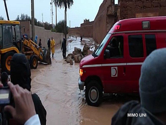 Novembre 2014, Tiznite prise en otage .. inondation Tiznit12