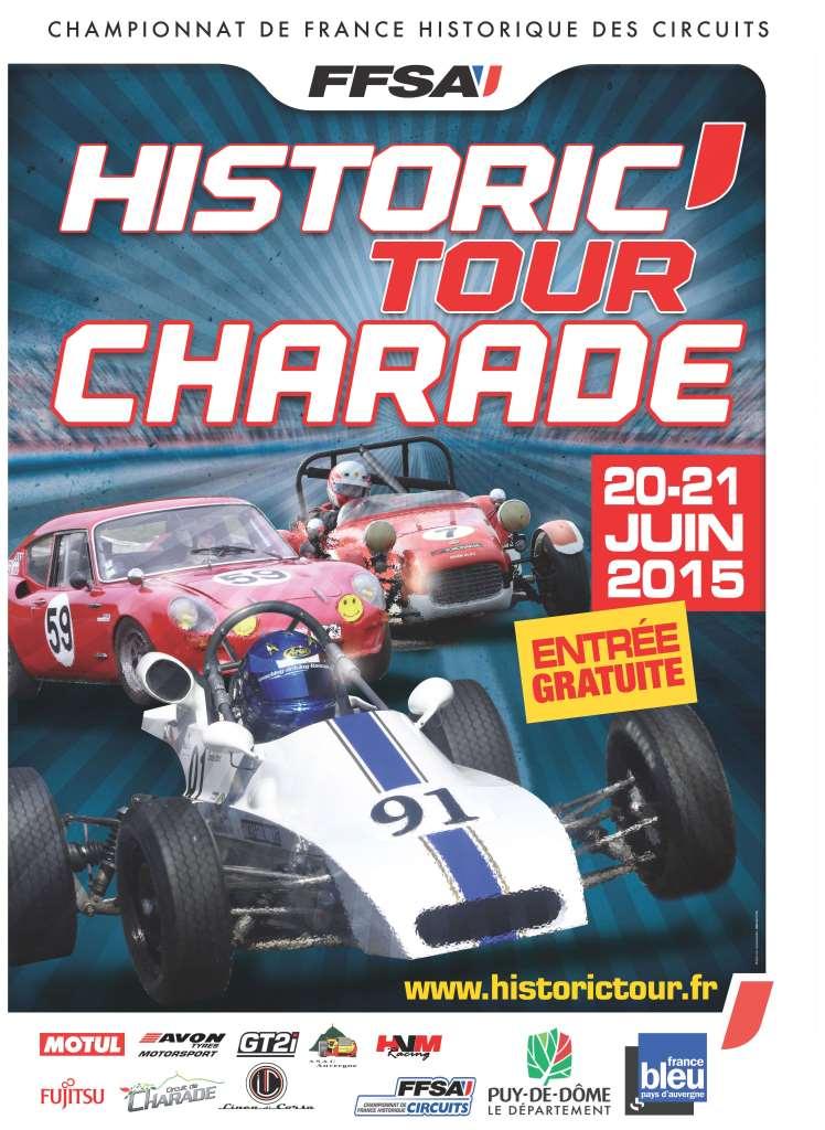 Historic Tour CHARADE - 20 et 21 juin 2015 Affich11