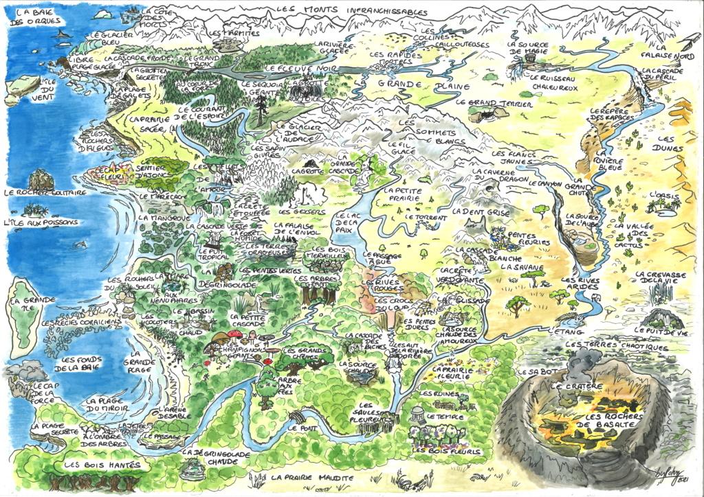 Carte et description des lieux 20210610
