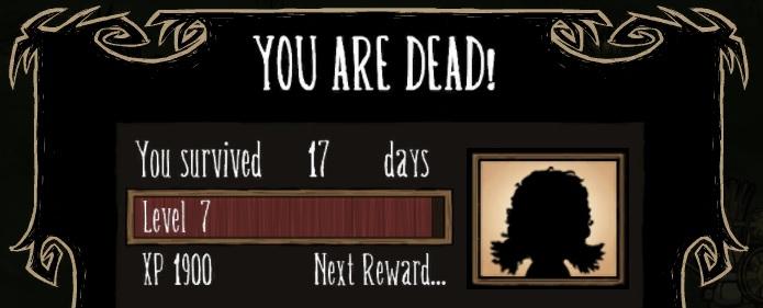 Don't Starve: BG's trials:32 days before death 17days10