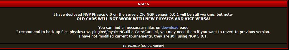NGP6 ya en el plugin checo Screen12
