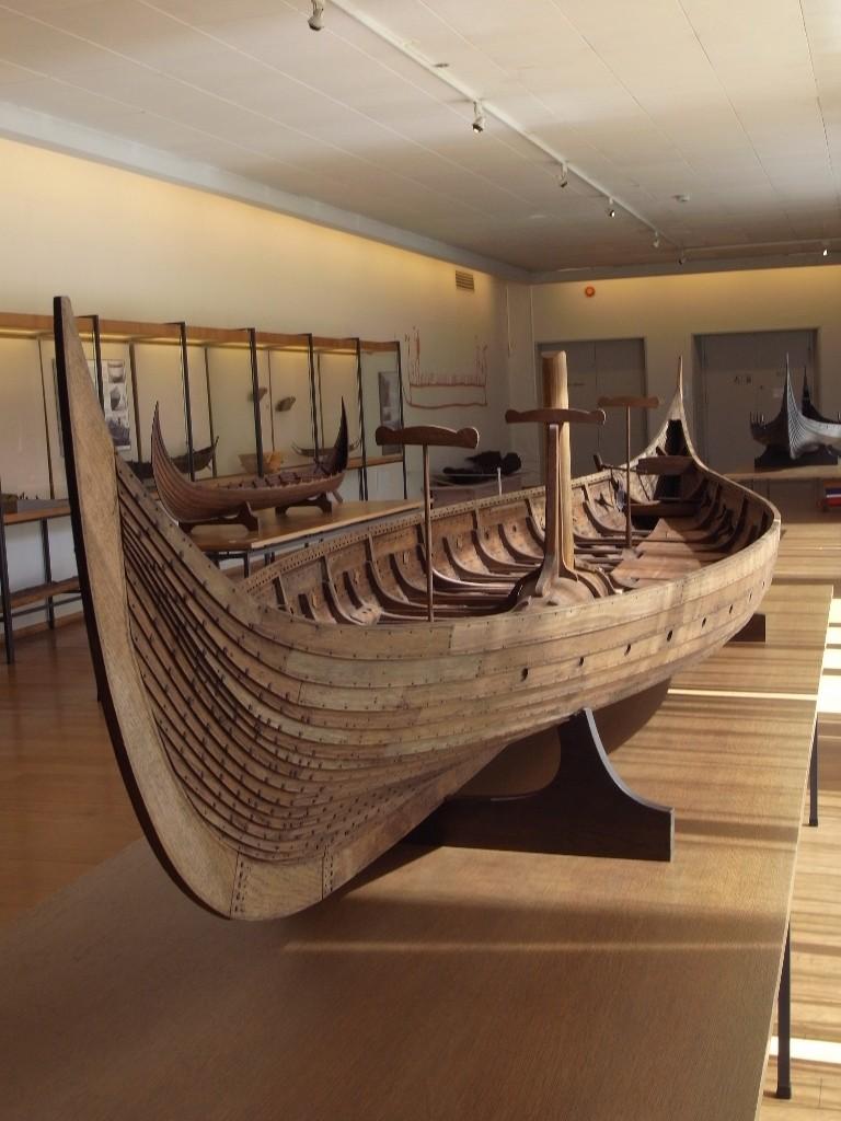 Le navire de Gokstad Goksta13