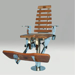[Porta bote] - Siège pike'n bass assis debout Gibite10