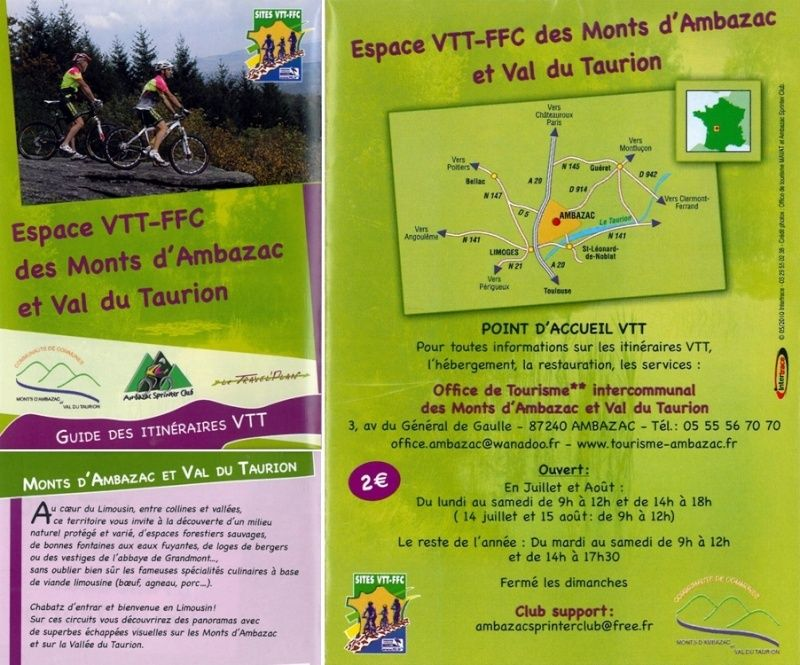 Base VTT - FCC des Monts d'Ambazac et Val du Taurion (87) Screen10