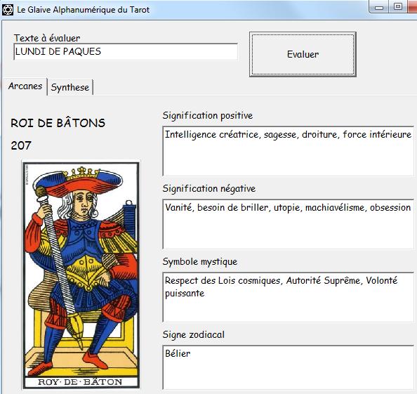 Le Glaive Alphanumérique du Tarot Ludide10