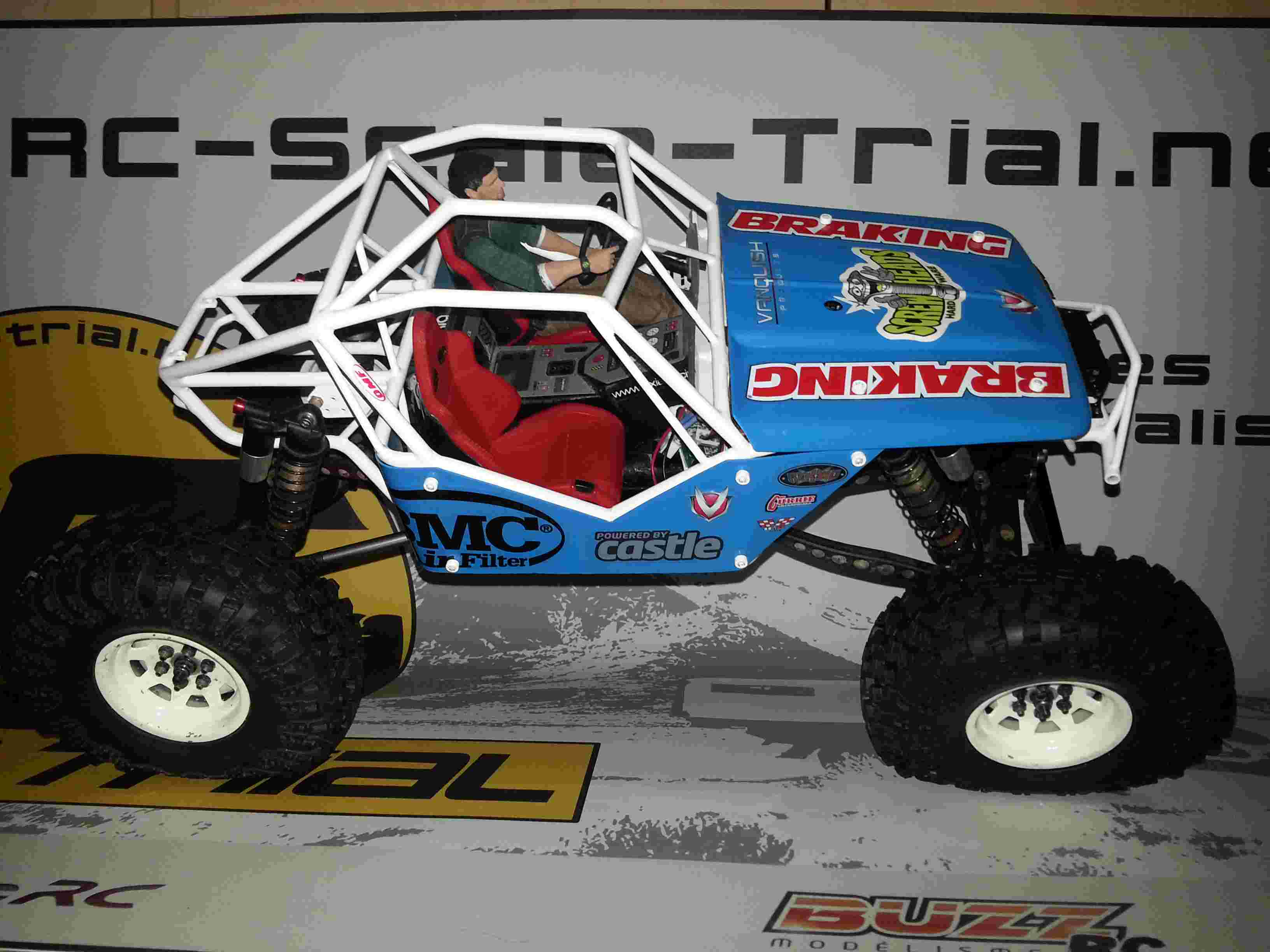 WRAITH Axial - The Soyann Ultra4 !! cage G-marc G01 20150524