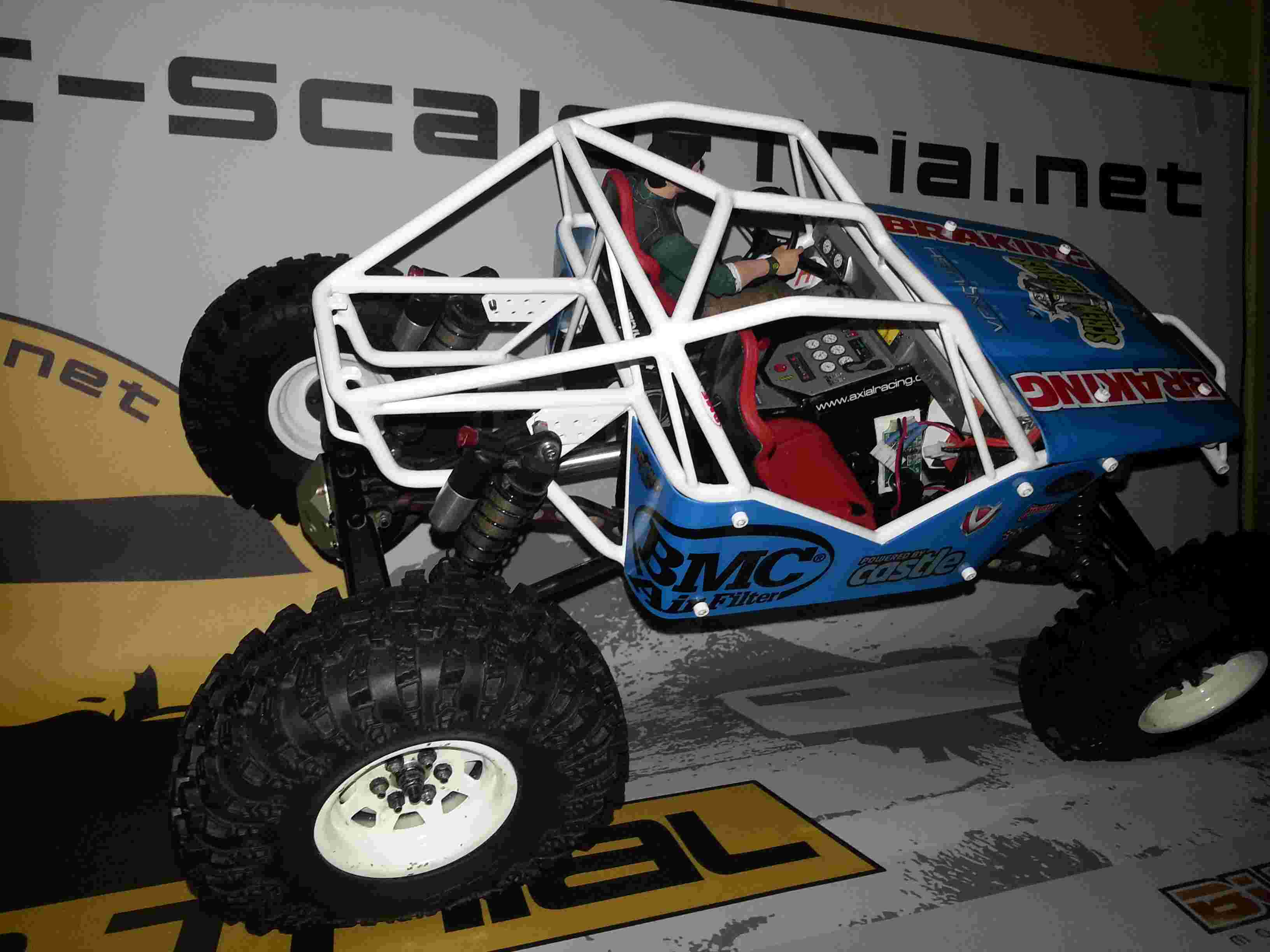 WRAITH Axial - The Soyann Ultra4 !! cage G-marc G01 20150525