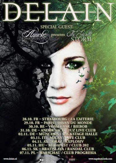 Concerts en headline fin 2015 Tour2010