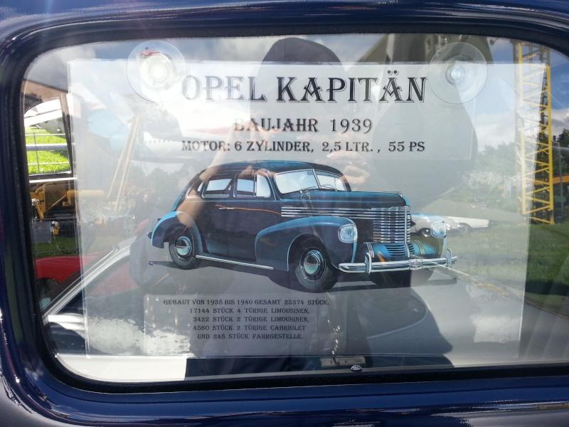 ´39 Opel Kapitän Saloon 1:35 von ICM 20140516