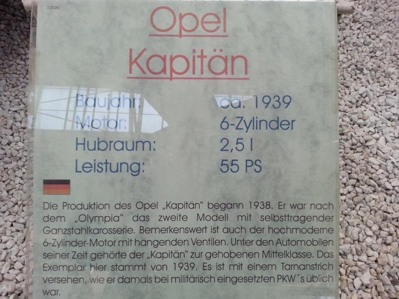 ´39 Opel Kapitän Saloon 1:35 von ICM 20150248