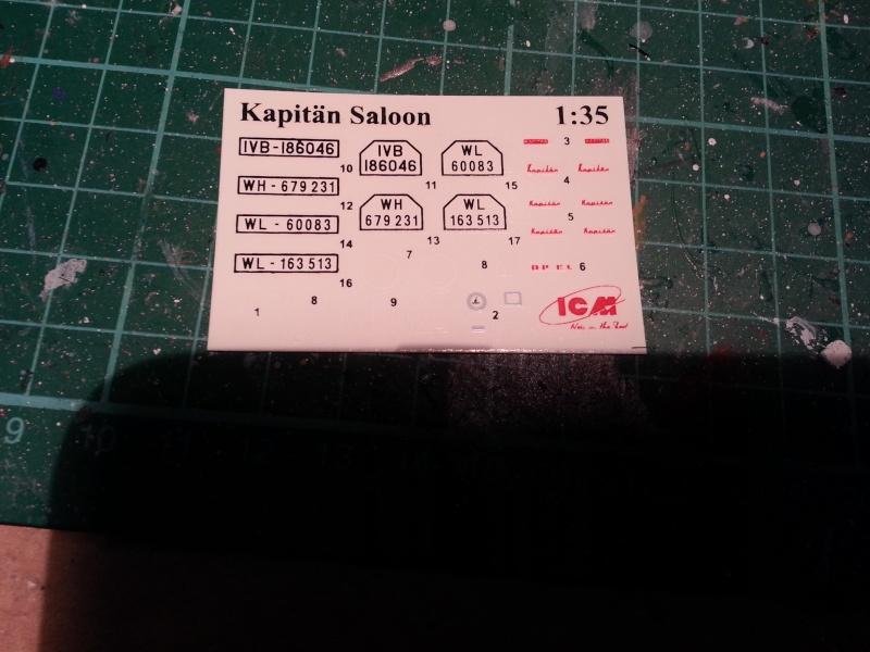´39 Opel Kapitän Saloon 1:35 von ICM 20150280