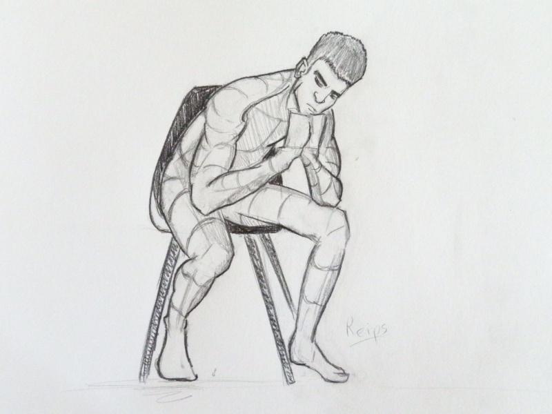 Bonhomme assis dessin - Dessin bonhomme assis ...