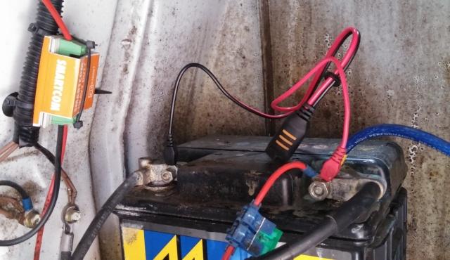 CTEK Battery Charger Install 20150510