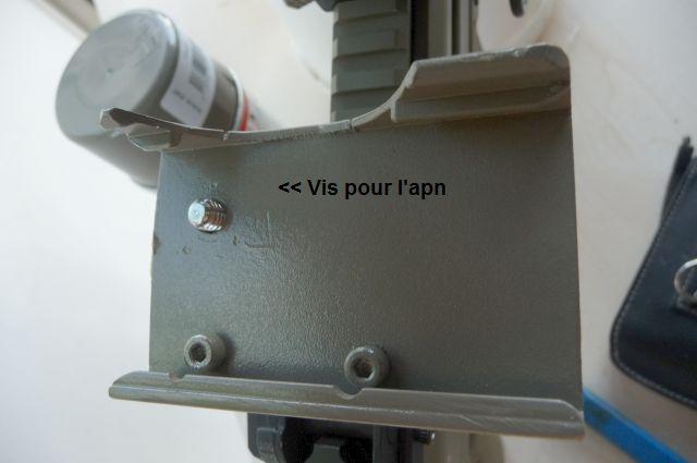 Support APN pour lunette de visé. Vue_in10