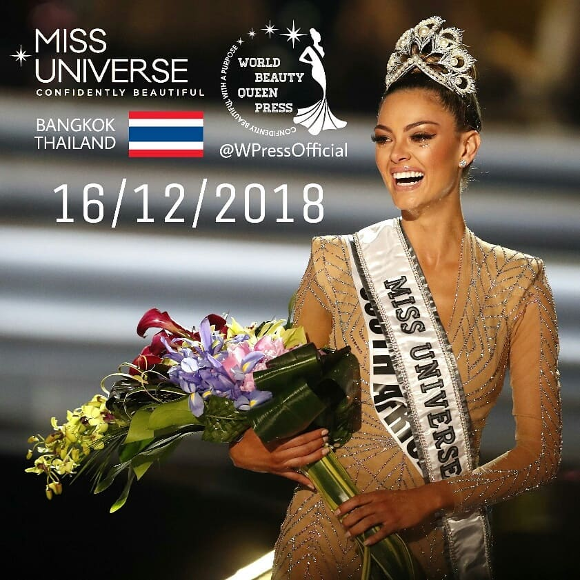 Miss Universe 2018 will be held in Bangkok, Thailand on December 16 - Page 2 37790010