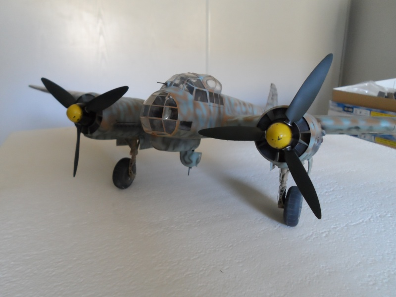 Ju 88 A4 - Gerbini Sicile 1942 - Revell 1/32 Sam_2514