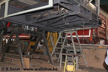 Rénovation d'un Van Hool AG280 de la Société Nationale des Chemins de Fer Vicinaux (5748) 2015_012