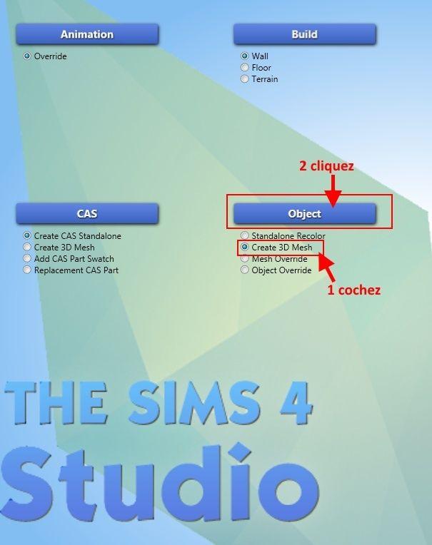 [Apprenti] Récupérer l'UV Map d'un objet pour faciliter sa recoloration   avec Sims 4 Studio   110