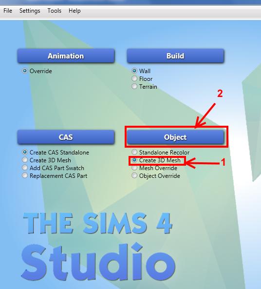 [Intermédiaire] Configurer un nouveau mesh objet avec Sims 4 Studio 111